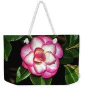 Leslie Ann - Sasanqua Camellia 007 Weekender Tote Bag