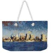 Less Wacky Philly Skyline Weekender Tote Bag