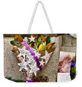 Lest We Forget Messages Weekender Tote Bag