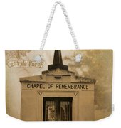 Lest We Forget The Forgotten Series 20 Weekender Tote Bag