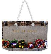 Lest We Forget War Memorial Martin Place Weekender Tote Bag