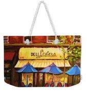 Lesters Cafe Weekender Tote Bag