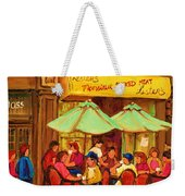 Lesters Monsieur Smoked Meat Weekender Tote Bag