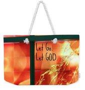 Let Go Weekender Tote Bag