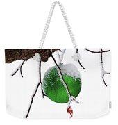 Let It Snow Christmas Ornament Weekender Tote Bag