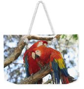 Let Me Get It - Scarlet Macaws Weekender Tote Bag