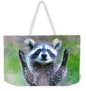 Let Me In I'm Rocky Raccoon Weekender Tote Bag