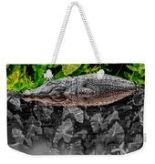 Let Sleeping Gators Lie - Mod Weekender Tote Bag