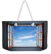 Let The Blue Sky In Weekender Tote Bag