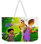 Let The Good Times Roll 1 Weekender Tote Bag