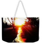 Let The Sun Light Your Path Weekender Tote Bag