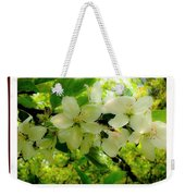 Let The Sun Shine Down On Me Weekender Tote Bag