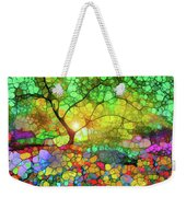 Let This Light Bring You Home Weekender Tote Bag