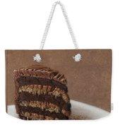 Let Us Eat Cake Weekender Tote Bag by James W Johnson