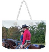 Let Your Babies Grow Up To Be Cowboys Weekender Tote Bag