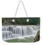 Letchworth Falls Sp Lower Falls Weekender Tote Bag