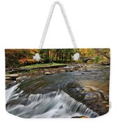Letchworth Falls Sp Wolfe Creek Weekender Tote Bag
