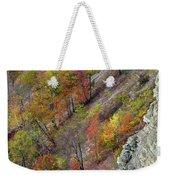 Letchworth Falls State Park Fall Colors Weekender Tote Bag