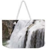 Letchworth Middle Falls Weekender Tote Bag by Michael Chatt
