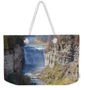 Letchworth Middle Falls Weekender Tote Bag