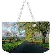 Let's Drive Through The Vineyard Weekender Tote Bag