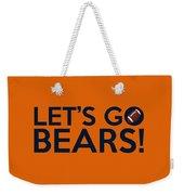 Let's Go Bears Weekender Tote Bag