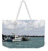 Let's Go Fishin Weekender Tote Bag