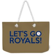 Let's Go Royals Weekender Tote Bag