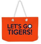 Let's Go Tigers Weekender Tote Bag