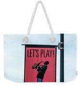 Let's Play Weekender Tote Bag
