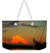 Let's Sail Away Weekender Tote Bag