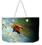 Let's Take A Trip Weekender Tote Bag