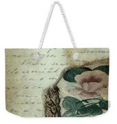 Letter From India Weekender Tote Bag