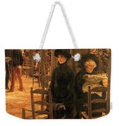 Letter L With Hats Jacques Joseph Tissot Weekender Tote Bag
