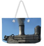 Letting Off Some Steam Weekender Tote Bag