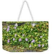 Lettuce Lake Flowers Weekender Tote Bag