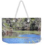 Lettuce Lake With Bridge Weekender Tote Bag