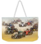 Lewis Hamilton Leads The Pack Weekender Tote Bag