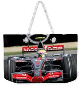 Lewis Hamilton, Mclaren- Mercedes Mp4-22 Weekender Tote Bag