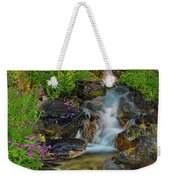 Lewis Monkey Flowers And Cascade Weekender Tote Bag
