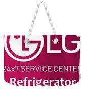 Lg Refrigerator Service Center Weekender Tote Bag