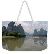 Li River At Xingping Weekender Tote Bag
