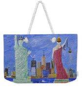 Liberty And Justice  Weekender Tote Bag