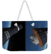 Liberty Bell 7 - Gently Cross Your Eyes And Focus On The Middle Image Weekender Tote Bag