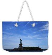 Liberty Island Statue Of Liberty Weekender Tote Bag