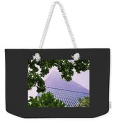 Liberty Tower Framed By Trees Weekender Tote Bag