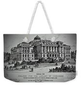 Library Of Congress Proposal 2 Weekender Tote Bag