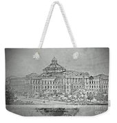 Library Of Congress Proposal 3 Weekender Tote Bag