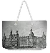 Library Of Congress Proposal 4 Weekender Tote Bag