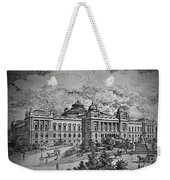 Library Of Congress Proposal 5 Weekender Tote Bag